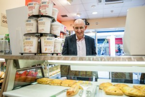 Durham PR photographer images from Greggs store of the year